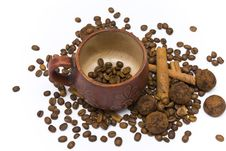 Free Coffee Beans In Cup Stock Photos - 14251353