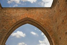 Free Ancient Arch In Bologna Stock Photography - 14251552