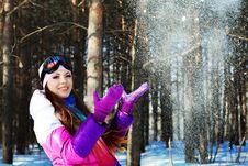 Free Snowflakes Royalty Free Stock Image - 14251956