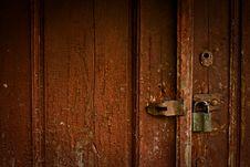 Free Part Wooden Door Stock Image - 14252121
