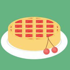 Free Cherry Pie Stock Image - 14252401