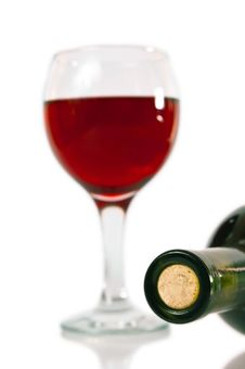 Free Wine Bottle Royalty Free Stock Photography - 14252407
