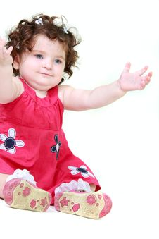 Free Cute Toddler Girl Royalty Free Stock Images - 14252609