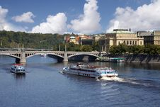 Free Boat In  Prague Stock Images - 14253004