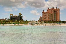 Free Bahamas Resort On The Caribbean Sea Royalty Free Stock Photos - 14254128