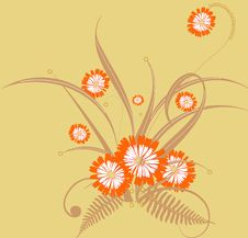 Free Floral Background Royalty Free Stock Photos - 14254508