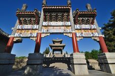 Free Summer Palace- Archway Stock Images - 14254634