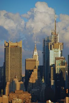 Free Chrysler Building Spire Royalty Free Stock Photography - 14255367