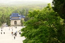 Free Sun Yat-sen S Mausoleum Stock Photo - 14255860
