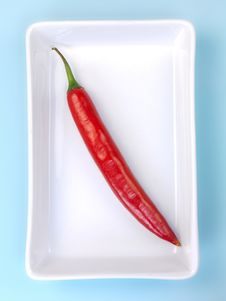 Free Red Chilli Pepper Stock Photos - 14255913