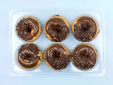 Free Chocolate Donuts Royalty Free Stock Photo - 14255965