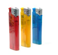 Free Colorful Lighter Royalty Free Stock Photos - 14255978