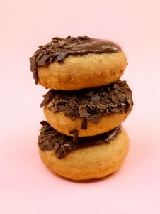 Free Chocolate Donuts Stock Photos - 14256073