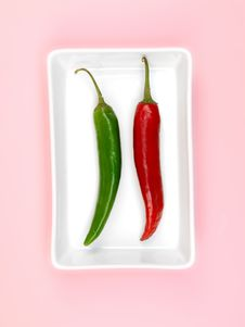 Free Chilli Peppers Stock Image - 14256091