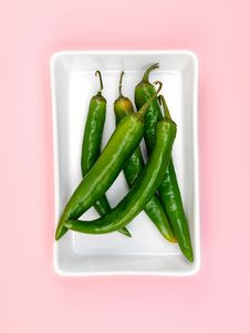 Free Chilli Peppers Royalty Free Stock Image - 14256096