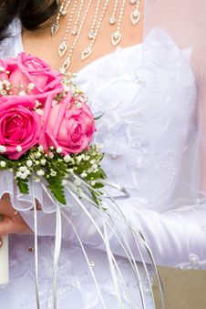 Free Beautiful Bridal Bouquet Royalty Free Stock Photography - 14256187