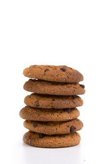 Free Oatmeal Cookies Stock Image - 14256231