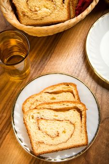 Cinnamon Swirl Bread Royalty Free Stock Images