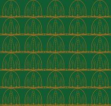 Free Tree Seamless Pattern Stock Photo - 14256700