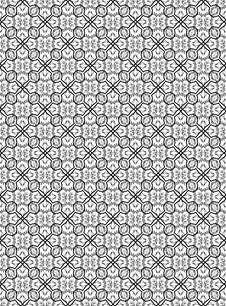 Free Flower Seamless Pattern Stock Photo - 14256790