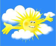Free Holiday Sun Royalty Free Stock Photo - 14257595