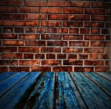 Free Colored Brick Wall Texture Stock Photo - 14257860