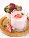 Free Strawberry Yoghurt Royalty Free Stock Image - 14260766
