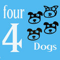 Free 4 Dogs Royalty Free Stock Photos - 14269888