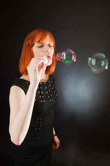 Free Soap Bubbles Royalty Free Stock Images - 14260249