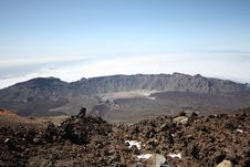 Free Teide S Old Crater Royalty Free Stock Image - 14260326