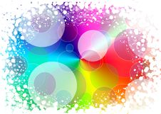 Free Abstract Background Of Holiday Lights Royalty Free Stock Photos - 14260468