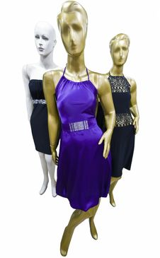 Free Dummy In A Fashion Shop Royalty Free Stock Image - 14261596
