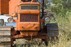Free Old Tractor Stock Photo - 14261650