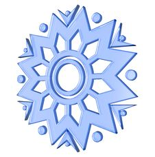 Free Fancy Snowflake Stock Photography - 14261942