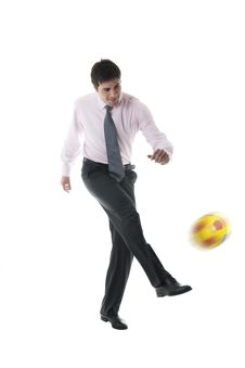 Free Soccer/Football Fever! Stock Photo - 14261990