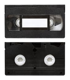 Free Old Video Tape Royalty Free Stock Image - 14262346