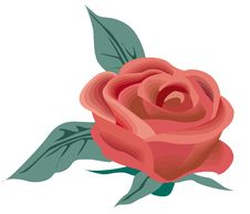 Free Vector Red Rose Stock Image - 14262971