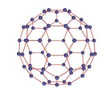 Free Model Of Molecule Fulleren Stock Photo - 14263040