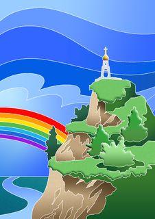 Free Rainbow Royalty Free Stock Image - 14264126