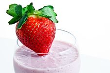 Strawberry Smoothie 2 Royalty Free Stock Photos