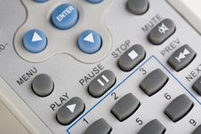 Free Closeup Of A Remote Control Royalty Free Stock Images - 14264579