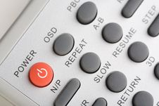 Free Closeup Of A Remote Control Stock Photography - 14264622