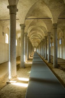 Ancient Stables Royalty Free Stock Images