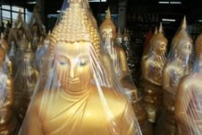 Free Buddha Statues, Thailand. Royalty Free Stock Photos - 14264738