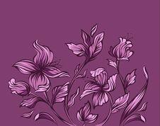 Free Modern Floral Design Stock Photo - 14265180
