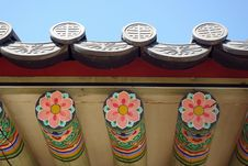 Free Korean Palace Roof Stock Image - 14265331