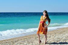 Free Summer Girl Stock Photo - 14266220