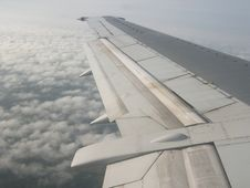 Free Airplane Wing Stock Photography - 14267032