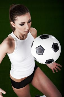 Free Sexy Football Player Royalty Free Stock Images - 14267479