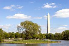 Washington Monument Landmark Washington, DC Stock Photos